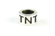 This rich, substantial sterling silver bead includes TNT and LLS lettering with a decorative diamond-shaped divider.  The perfect addition to a bracelet or necklace showing your dedication to the LLS and TNT!