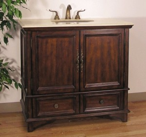 Solid Wood Bathroom Vanities Guide is introduced by HomeThangs.com