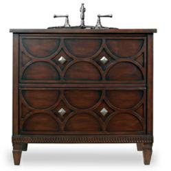 Cole And Co Dalton Sink Chest Solid Wood Bathroom Vanity 11.22.275536.08