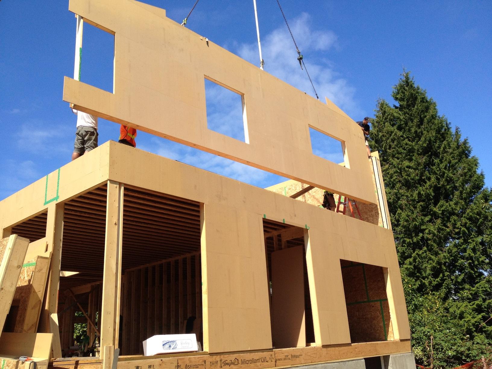 Prefab Passive House For Surrey British Columbia