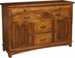 The beautifully-crafted Douglas Sideboard bears a truly unique style.