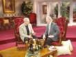 Nick at a recent appearance on TCT Christian TV talking about his new book.