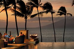 Four Seasons Resort Maui Adults-Only Serenity Pool at Sunset