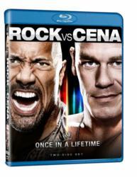 WWE Rock vs Cena