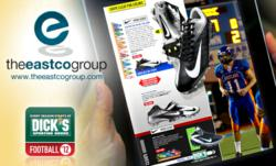 The Dick's Sporting Goods' Digital Catalog developed by the Eastco Group for iPad.