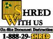 ShredWithUs On-Site Document Destruction