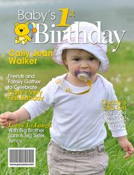 YourCover 1st Birthday Magazine Cover