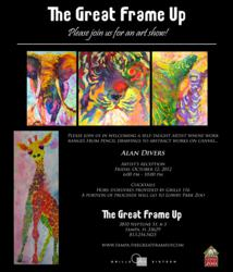 South Tampa Custom Frame Shop Presents the Work of Alan Divers