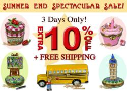 Summer End Sale www.LimogesBoxCollector.com