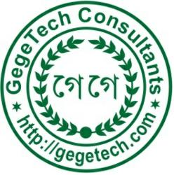 Gegetech Consultants - Stamp Logo