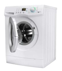 High efficiency front loading washing machine