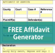 Free Affidavit Generator Released by ServeNow.com