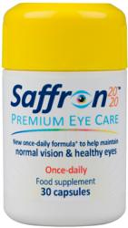 Saffron 2020 is a unique formula that contributes to healthy eye structure and helps against damage caused by sunlight and free radicals.