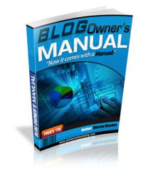 Blog Owner's Manual