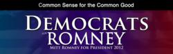 Democrats for Romney