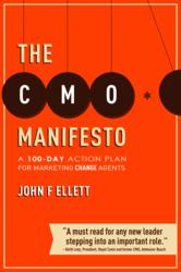 The CMO Manifesto by John Ellett (book jacket)