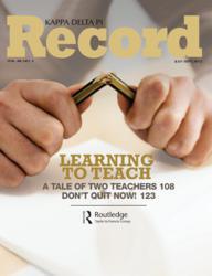Kappa Delta Pi Record wins Silver Award in Association TRENDS 2012 All-Media Contest