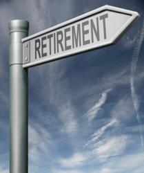 Sign to uncertain retirement