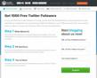 Buy Twitter Followers Service Offers 1000 Free Twitter Followers to Blog Owners