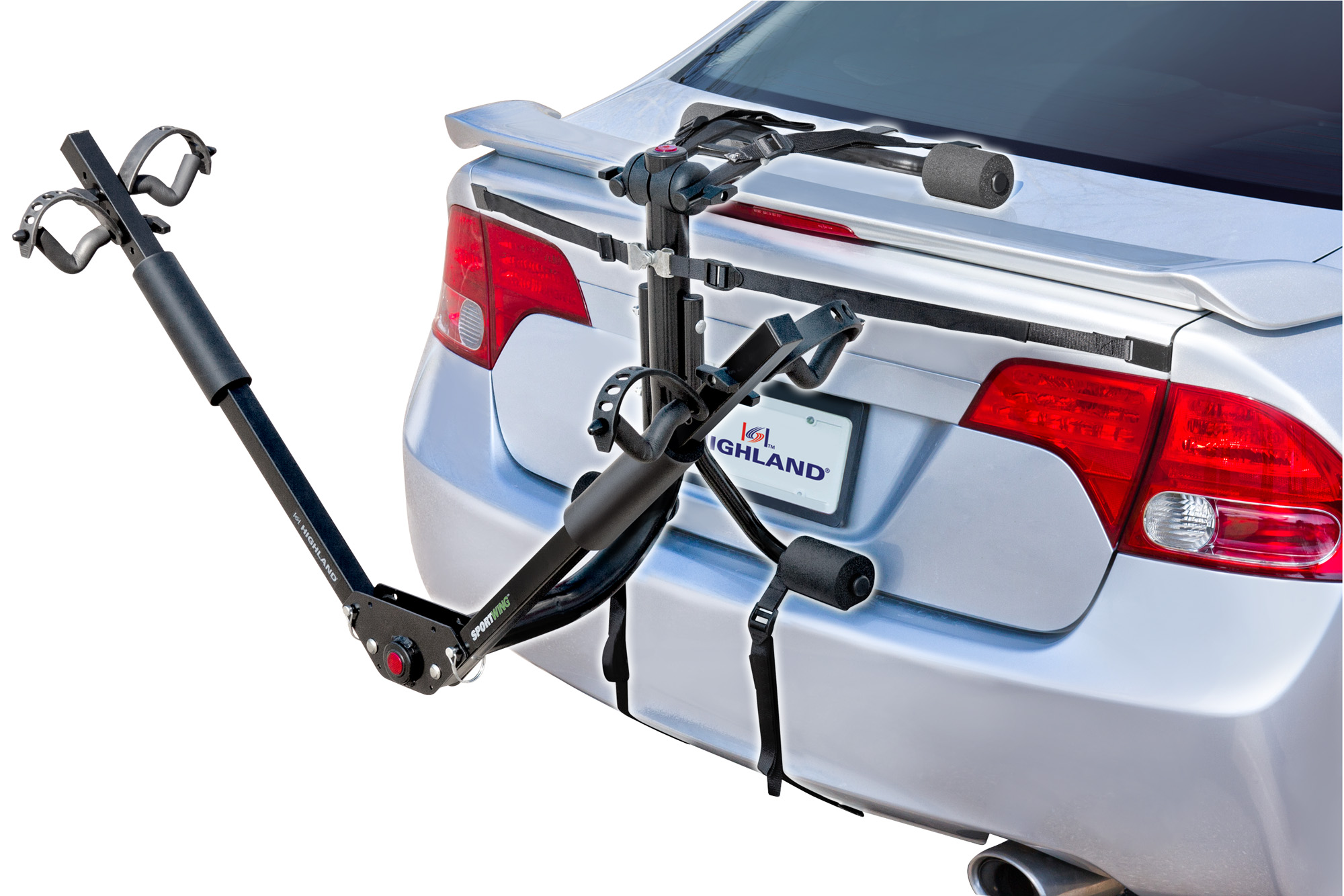 Car Trunk Bike Rack