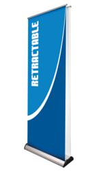 Excalibur Double Sided Retractable Banner Stand