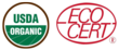 Ecocert and USDA NOP seals