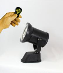 Vehicle Mounted Spotlight with 360000-cp and remote control key fob