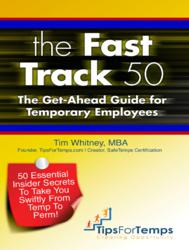Tim Whitney's book is designed to help unemployed and temporarily employed workers attain full-time jobs.