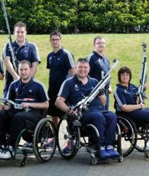 ParalympicGB shooting team