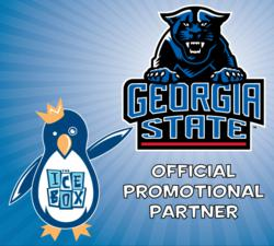 The Icebox is now the official promotional partner of Georgia State University athletics.