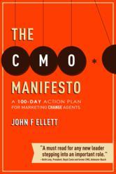 The CMO Manifesto by John Ellett (book jacket)