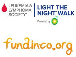 Leukemia & Lymphoma Society of Illinois and Fundinco.org Partner for Light The Night Walk