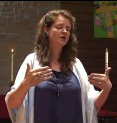 Amy Robbins-Wilson performing Angel Baby Remembrance Concert