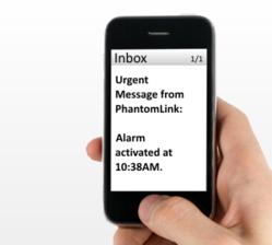 PhantomLink Alarm Notification