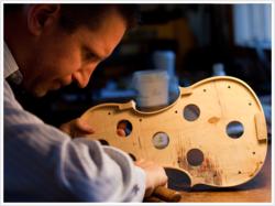 Los Angeles, Violin Shop, Benning Violins, Studio City, Eric Benning, Balestrieri