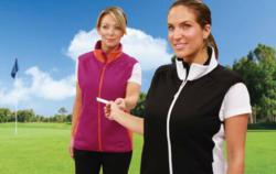 The Otter Company all-new 2013 women's golf vests.