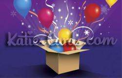 'Magic Box' new Corporate Christmas E card from www.katiescards.com