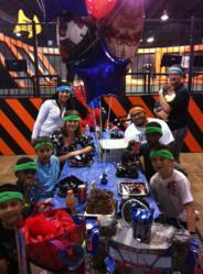 Kids Birthday Party at Urban Air