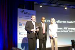 Dean Forbes, CEO of KDS  (Center) at KDS Now 2012