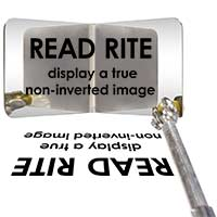 The new Read Rite™ telescoping inspection mirror from Industrial Magnetics