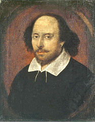 Chandos portrait of William Shakespeare