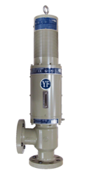 Young & Franklin Electromechanically Actuated Gas Fuel Control Valve Assembly.
