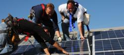 Solar Panel Training Yard