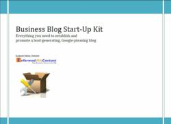 2012 Edition of Business Blog Start Up Kit