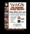 100 Adoptions for $1 - to Celebrate WAGS Pet Adoption's First Year...