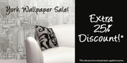 York Wallpaper Sale