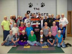 Students and faculty at Parkside School in Baileyton, Alabama go bald to fight cancer