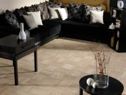 Ash Pearl Grey Uniblock Flooring by Coswick