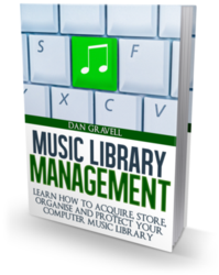 Box shot of the Music Library Management ebook
