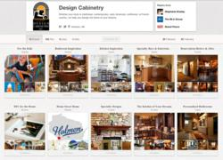 Design cabinetry, cabinetry, pinterest, social media, the blu group, marketing, advertising,